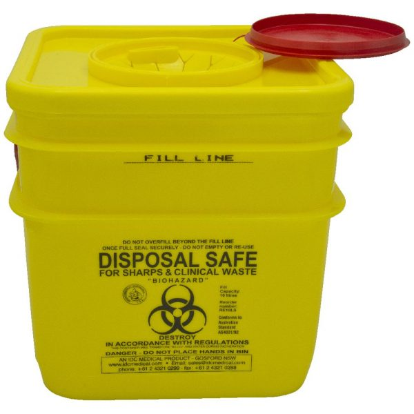 10ltr - Sharp Containers 10 Litre Snaptop