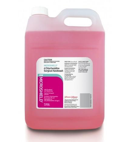 4 chlorhexidine 5l 0910 1 - Surgical Handwash 4% Chlorhexidine - Microshield (5 Ltr Bottle)