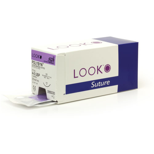 768 - Suture Absorbable PolySyn (12/pkt) - Look