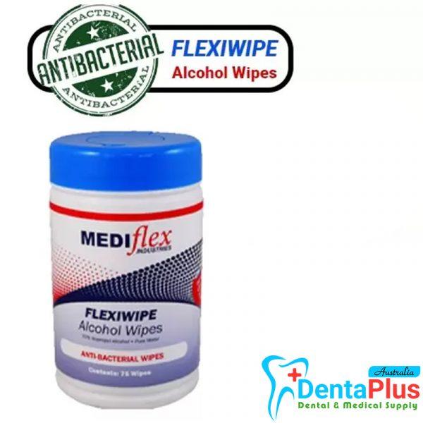 Alcohol Wipes Tub - Alcohol Wipes Tub - Mediflex