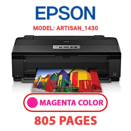 Artisan 1430 2 - EPSON Artisan_1430 - MAGENTA (RED) INK