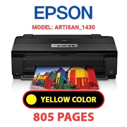 Artisan 1430 3 - EPSON Artisan_1430 - YELLOW INK