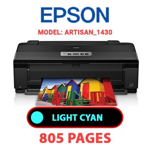 Artisan 1430 4 - EPSON Artisan_1430 - LIGHT CYAN INK