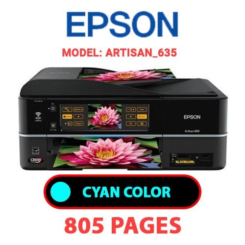 Artisan 635 1 - EPSON Artisan_635 - CYAN (BLUE) INK