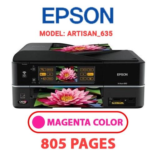 Artisan 635 2 - EPSON Artisan_635 - MAGENTA (RED) INK