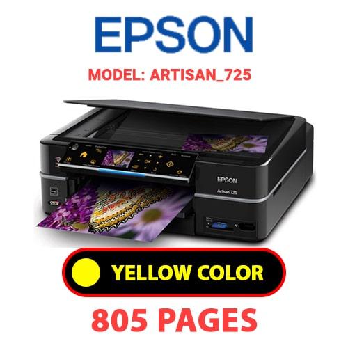 Artisan 725 3 - EPSON Artisan_725 - YELLOW INK