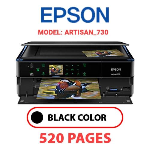 Artisan 730 - EPSON Artisan_730 - BLACK INK