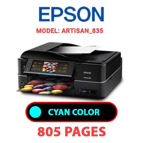Artisan 835 1 - EPSON Artisan_835 - CYAN (BLUE) INK