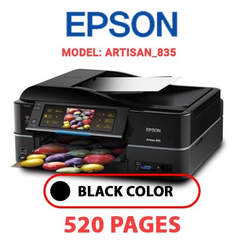Artisan 835 - EPSON Artisan_835 - BLACK INK