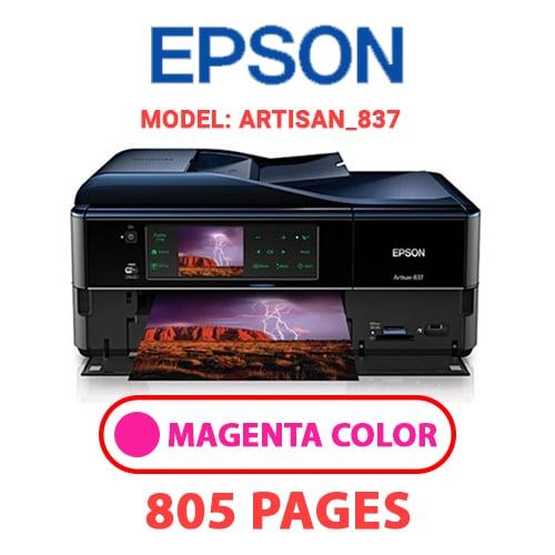 Artisan 837 2 - EPSON Artisan_837 - MAGENTA (RED) INK