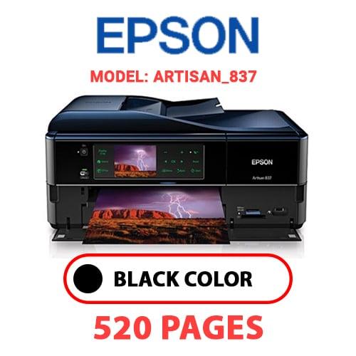 Artisan 837 - EPSON Artisan_837 - BLACK INK