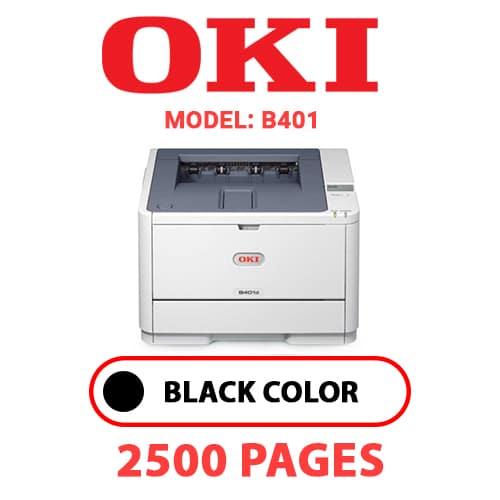 B401 - OKI B401 - BLACK TONER