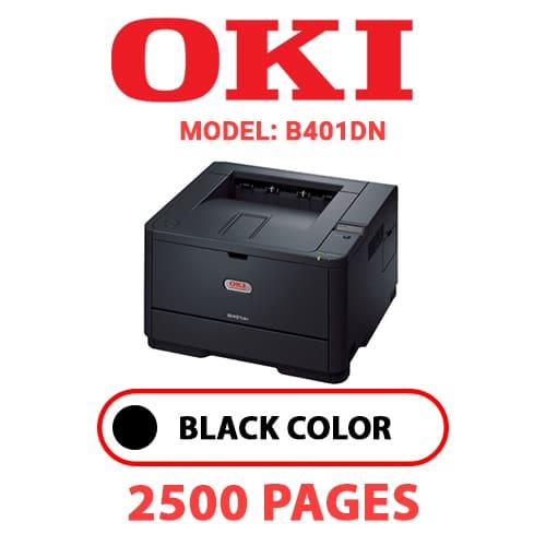 B401DN - OKI B401DN - BLACK TONER