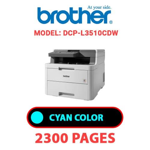 DCP L3510CDW 1 - BROTHER DCP-L3510CDW - CYAN TONER