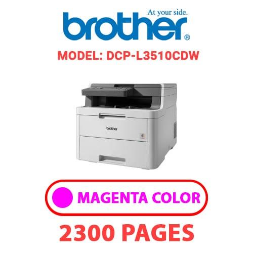 DCP L3510CDW 2 - BROTHER DCP-L3510CDW - MAGENTA TONER