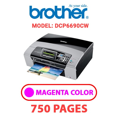 DCP6690CW 2 - BROTHER DCP6690CW - MAGENTA INK