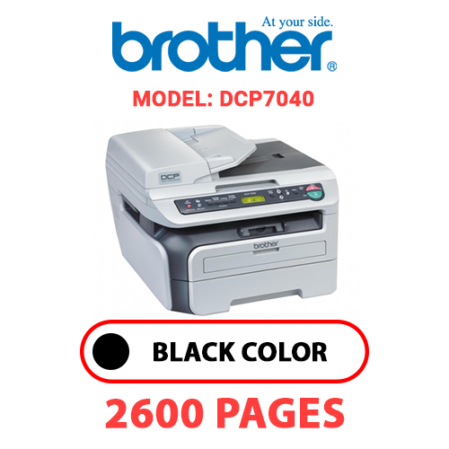 DCP7040 - BROTHER DCP7040 - BLACK TONER