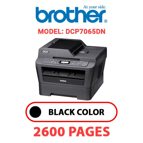 DCP7065DN 1 - BROTHER DCP7065DN - BLACK TONER