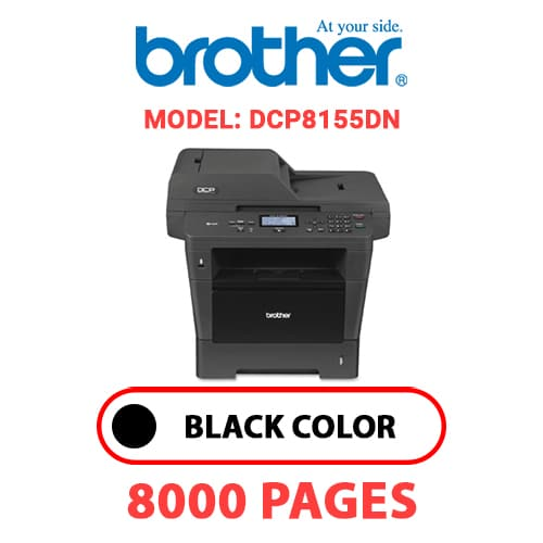 DCP8155DN 1 - BROTHER DCP8155DN - BLACK TONER