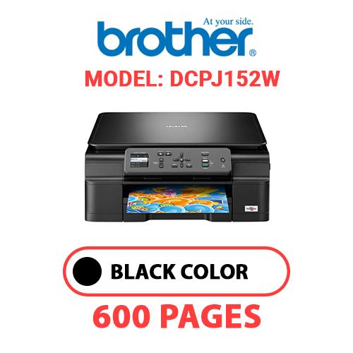 DCPJ152W - BROTHER DCPJ152W PRINTER - BLACK INK