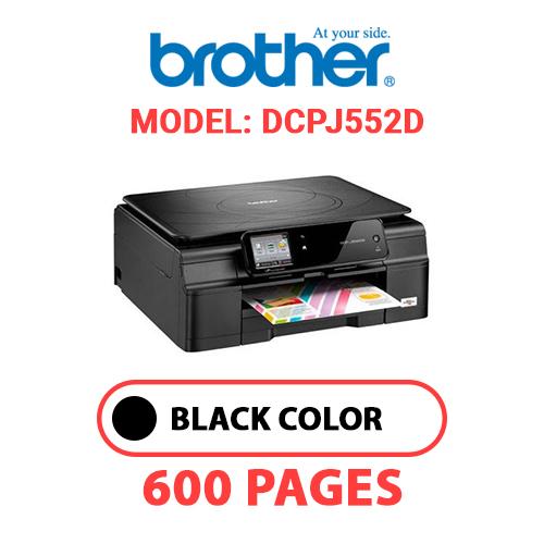 DCPJ552D - BROTHER DCPJ552D PRINTER - BLACK INK
