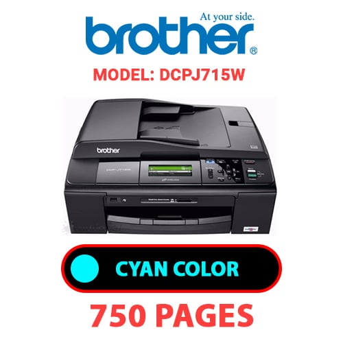 DCPJ715W - BROTHER DCPJ715W - CYAN INK