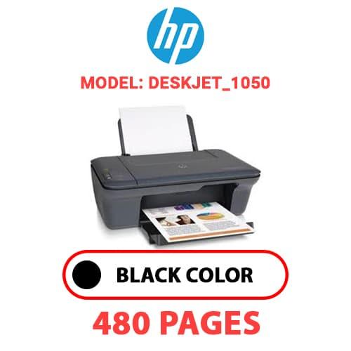 Deskjet 1050 - HP Deskjet_1050 - BLACK INK