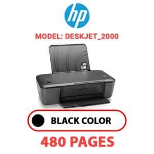 Deskjet 2000 - HP Printer