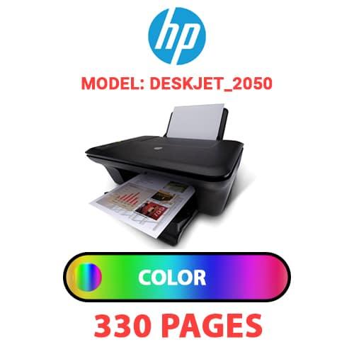 Deskjet 2050 1 - HP Deskjet_2050 - COLOR INK