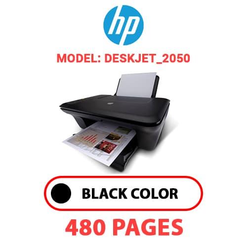Deskjet 2050 - HP Deskjet_2050 - BLACK INK