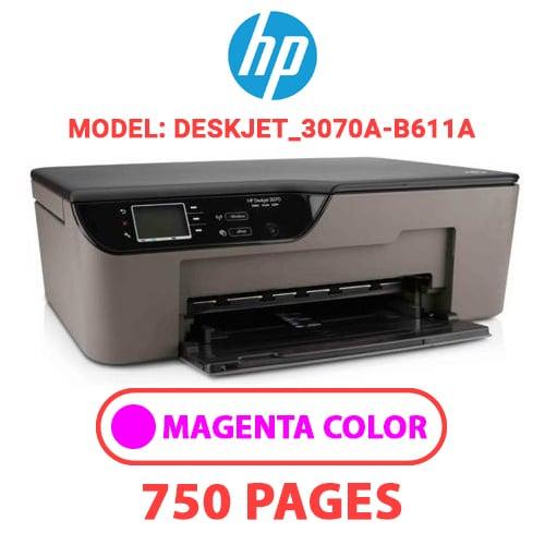 Deskjet 3070A B611a 2 - HP Deskjet_3070A-B611a - MAGENTA INK