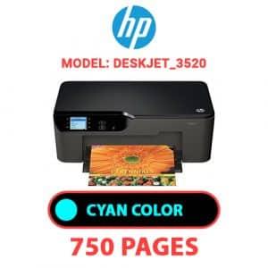 Deskjet 3520 1 - HP Printer