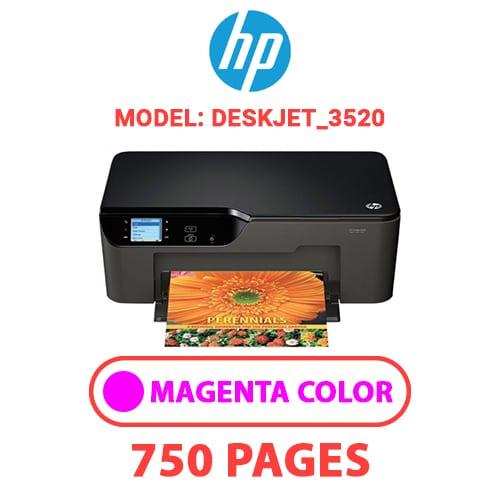 Deskjet 3520 2 - HP Deskjet_3520 - MAGENTA INK