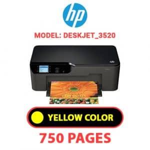 Deskjet 3520 3 - HP Printer