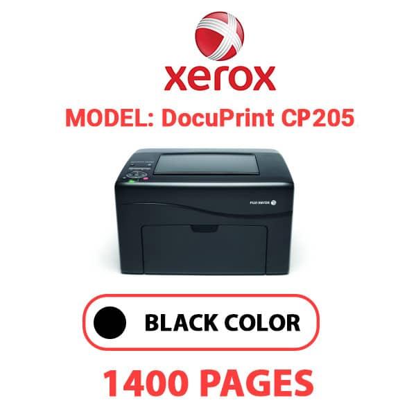 DocuPrint CP205 3 - XEROX DocuPrint CP205 - Black Toner Cartridge
