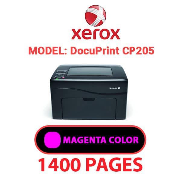DocuPrint CP205 5 - XEROX DocuPrint CP205 - Magenta Toner Cartridge