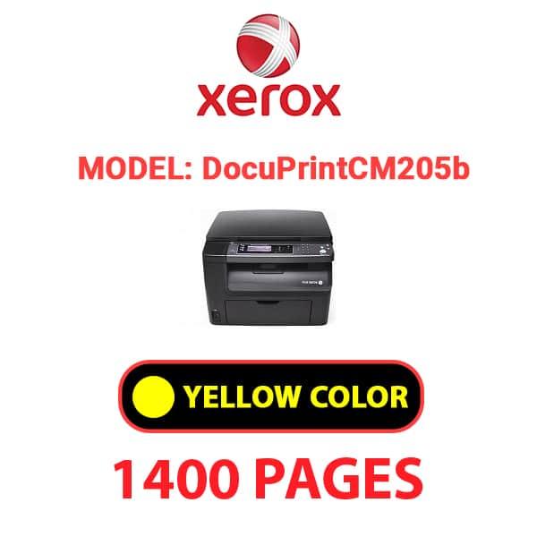 DocuPrintCM205b 1 - XEROX DocuPrintCM205b - Yellow Toner Cartridge