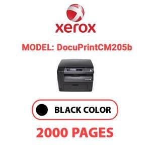 DocuPrintCM205b - Xerox Printer