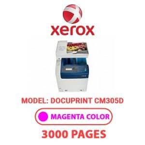DocuPrintCM305D 2 - Xerox Printer