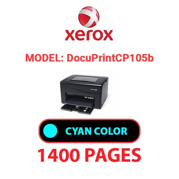 DocuPrintCP105b 2 - XEROX DocuPrint CP105b - Cyan Toner Cartridge