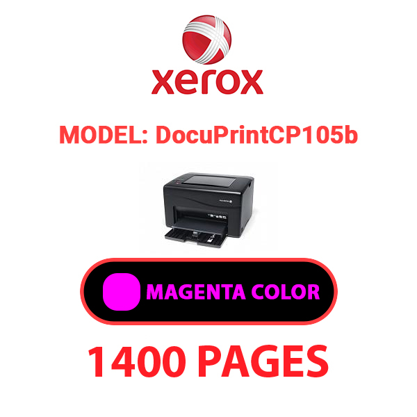 DocuPrintCP105b 3 - XEROX DocuPrint CP105b - Magenta Toner Cartridge