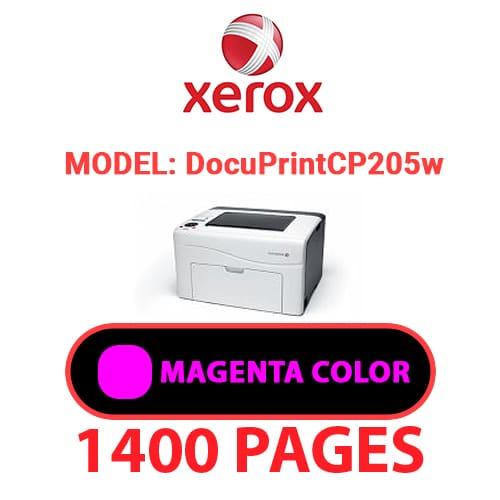 DocuPrintCP205w 3 - XEROX DocuPrint CP205w - Magenta Toner Cartridge