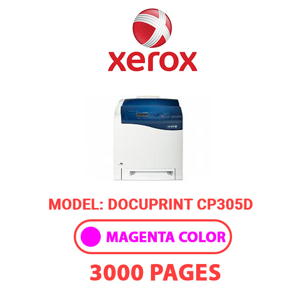 DocuPrintCP305D 2 - XEROX DocuPrintCP305D - Magenta Toner Cartridge