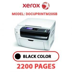 DocuPrintM205b - Xerox Printer