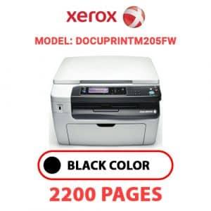 DocuPrintM205fw - Xerox Printer