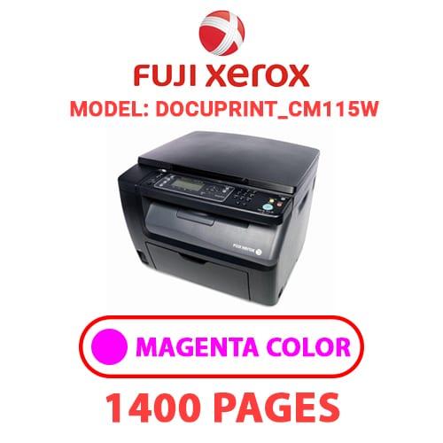 DocuPrint CM115W 2 - FUJI XEROX DocuPrint_CM115W -  MAGENTA TONER