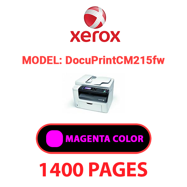 DocuPrint CM215fw 3 - XEROX DocuPrint CM215fw - Magenta Toner Cartridge