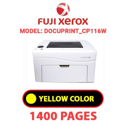 DocuPrint CP116W 3 - FUJI XEROX DocuPrint_CP116W -  YELLOW TONER