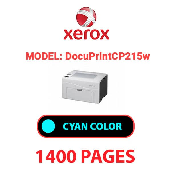 DocuPrint CP215w 2 - XEROX DocuPrint CP215w - Cyan Toner Cartridge