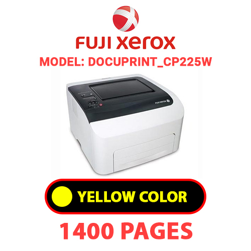 DocuPrint CP225W 3 - FUJI XEROX DocuPrint_CP225W -  YELLOW TONER
